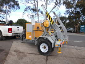 3,000kg ATM , self loader cable drum recovery winch trailer  - picture1' - Click to enlarge