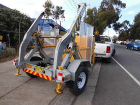 3,000kg ATM , self loader cable drum recovery winch trailer  - picture2' - Click to enlarge