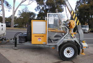 3,000kg ATM , self loader cable drum recovery winch trailer