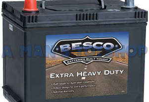 BATTERY 12V BESCO 530CCA M/FREE R/H SIDE
