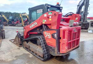 2015 Kubota SVL75 80HP Posi in Good Condition with 1649 Hours