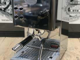 ECM CASA V 1 GROUP BRAND NEW STAINLESS STEEL ESPRESSO COFFEE MACHINE - picture0' - Click to enlarge