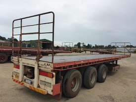 2007 General Transport Equipment 3-2 45' Flat Top Tri Axle Lead Trailer - T30 - picture1' - Click to enlarge
