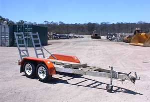 Custom Built Alloy tandem plant trailer