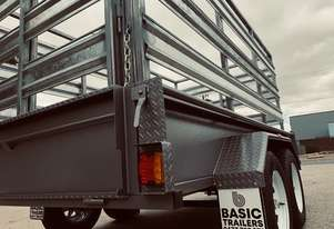 (Basic Trailers) Aussie Made Stock Crate 1990kg ATM 8x6