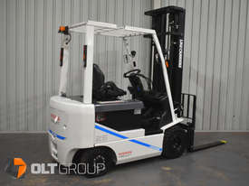 Nissan 2.5 Tonne Electric Forklift with 6000mm Mast Very Low Hours 2015 Series - picture3' - Click to enlarge