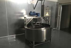 Cheese kettle & cheese vat