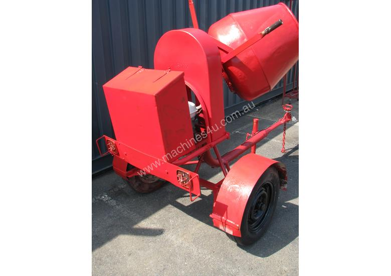 Towable Concrete Cement Mixer - Wesmix