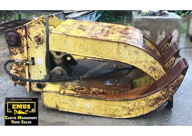 25 to 35 ton 5 Finger Hydraulic Rock Grab. E.M.U.S. AS192