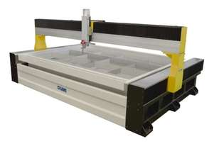 5 Axis Waterjet Cutter - Buy Direct From The Factory - Gantry Style - Best for Porcelain and Stone