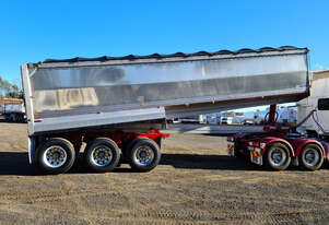 Tefco   Semi Tipper Trailer