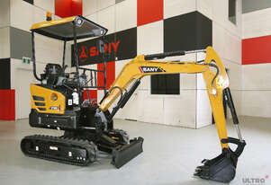 FOR HIRE - SANY SY16C 1.75T MINI EXCAVATOR