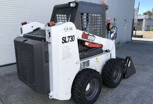 Ozziquip Skid Steer with Air Con Cab and 4 in 1 bucket