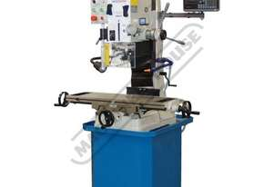 HM-47 Mill Drill - Geared & Tilting Head with Digital Readout System Table Travel: (X) - 540mm (Y) -