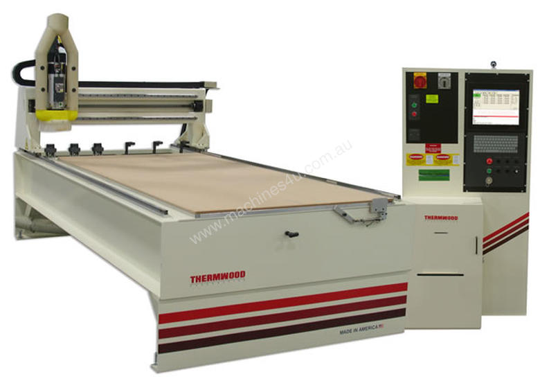 Thermwood - Model 41 - 3 axis flatbed nesting CNC