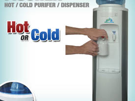 HOT AND COLD WATER PURIFIER/DISPENSER