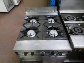 Falcon Dominator Gas Range - 4 Burner - picture1' - Click to enlarge