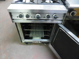 Falcon Dominator Gas Range - 4 Burner - picture3' - Click to enlarge