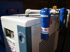 5hp / 4kW Screw Air Compressor Tank Dryer Filter - picture8' - Click to enlarge