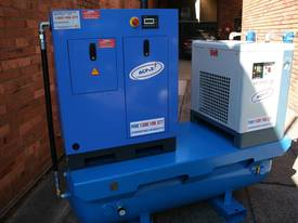 5hp / 4kW Screw Air Compressor Tank Dryer Filter - picture0' - Click to enlarge