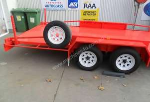 Blyth Builtcar trailer with ramps with rego