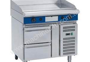 Blue Seal Evolution Series GP516-RB - 900mm Gas Griddle Refrigerated Base