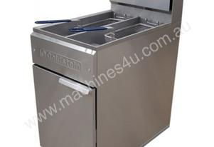 Goldstein TGT-18 Turbo Gas Split Pan Fryer