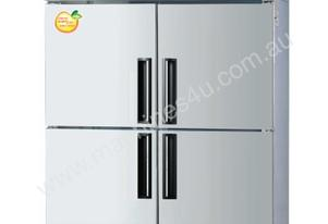 Lassele LRF-1382PC Four x 1/2 Solid Door Upright Combination Fridge/Freezer - 1014 Litre