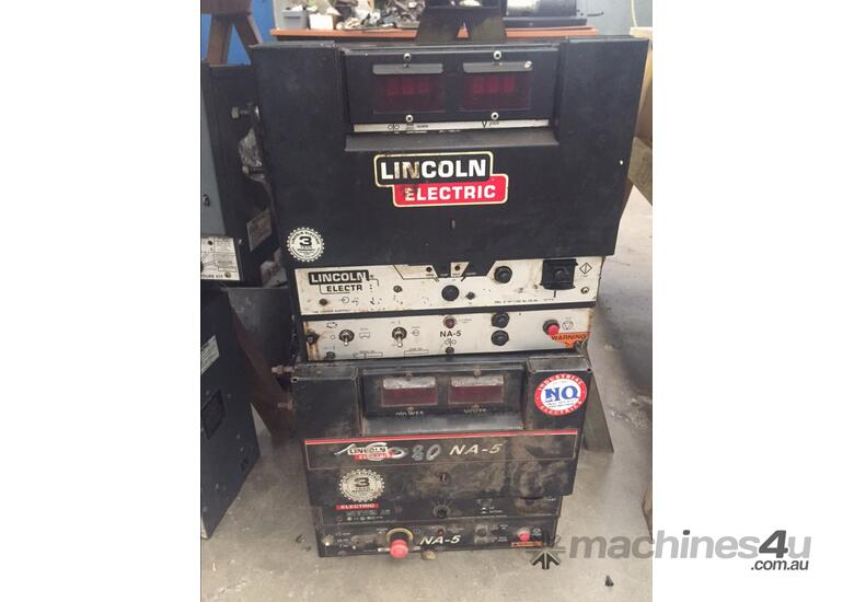 used lincoln electric na 5 three phase sub arc welders in crestmead qld price 1 900. Black Bedroom Furniture Sets. Home Design Ideas