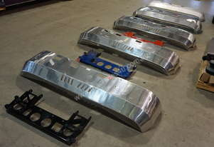 Kenworth Alloy FUPS Bumper Bars - Suit Cabover K-Series