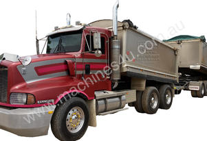 Kenworth T601 Tipper & Hercules Quad Dog