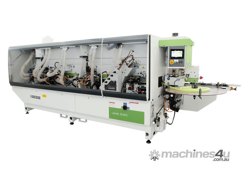 Biesse Jade 240 Premilling and Corner Rounding Single-sided Edgebanding machines