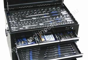 TOOLKIT 211 PC METRIC/SAE IN BLACK 7 DRAWER CUSTOM