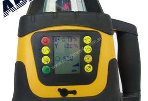 Dial In Grade Laser Level Drainage Inc Tripod & St