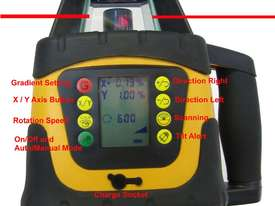 Dial In Grade Laser Level Drainage Inc Tripod & St - picture2' - Click to enlarge