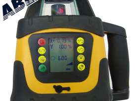 Dial In Grade Laser Level Drainage Inc Tripod & Staff - picture0' - Click to enlarge
