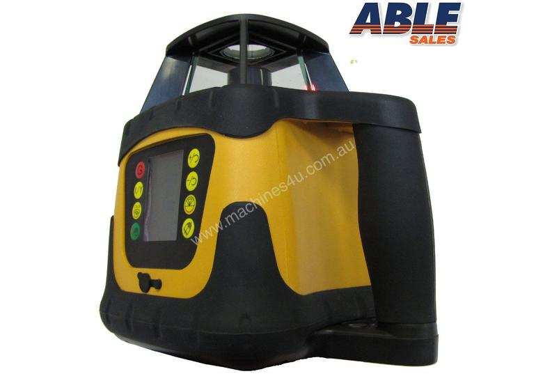 Dial In Grade Laser Level Drainage Inc Tripod & Staff