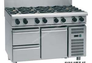 Waldorf 800 Series RNL8800G-RB - 1200mm Gas Cooktop Low Back Version `` Refrigerated Base
