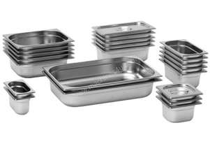 F.E.D. 16150 Australian Style 1/6 GN x 150 mm Deluxe Gastronorm Pan