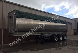 Alum   Semi  Tipper Trailer