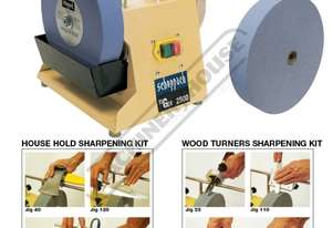 TiGer 2500 Wetstone Grinder Package with + Wood Tu