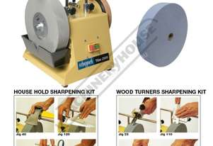 TiGer 2500 Wetstone Grinder Package with + Wood Turners + House Hold Kits & Spare Griding Wheel Ø25