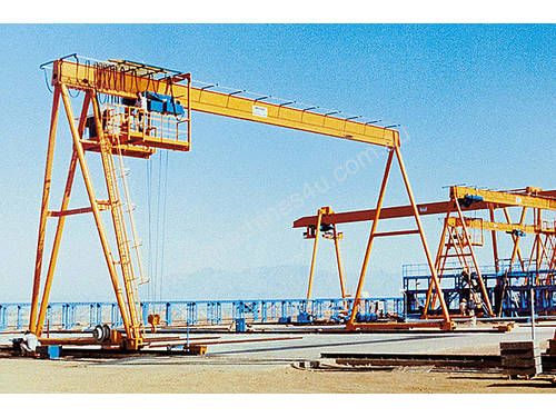 Overhead Cranes Perth : Demag buy machinery equipment for sale australia