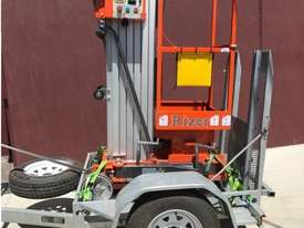 Dingli Rizer Personnel Lift and Trailer, LOW HOURS - picture0' - Click to enlarge