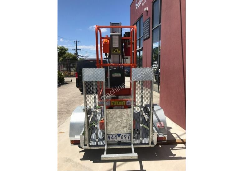 Dingli Rizer Personnel Lift and Trailer, LOW HOURS