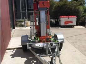 Dingli Rizer Personnel Lift and Trailer, LOW HOURS - picture3' - Click to enlarge