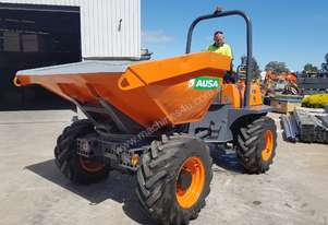 2015 AUSA 6T SWIVEL SITE DUMPER WITH LOW HOURS