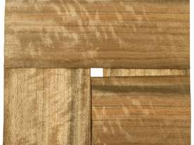 Four Piece Veneer Pack - Queensland Walnut 800mm  - picture1' - Click to enlarge