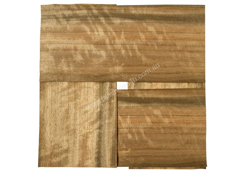Four Piece Veneer Pack - Queensland Walnut 800mm
