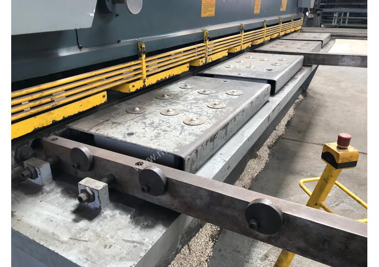 JUST IN - METALMASTER 4000mm x 12mm Variable Rake Guillotine